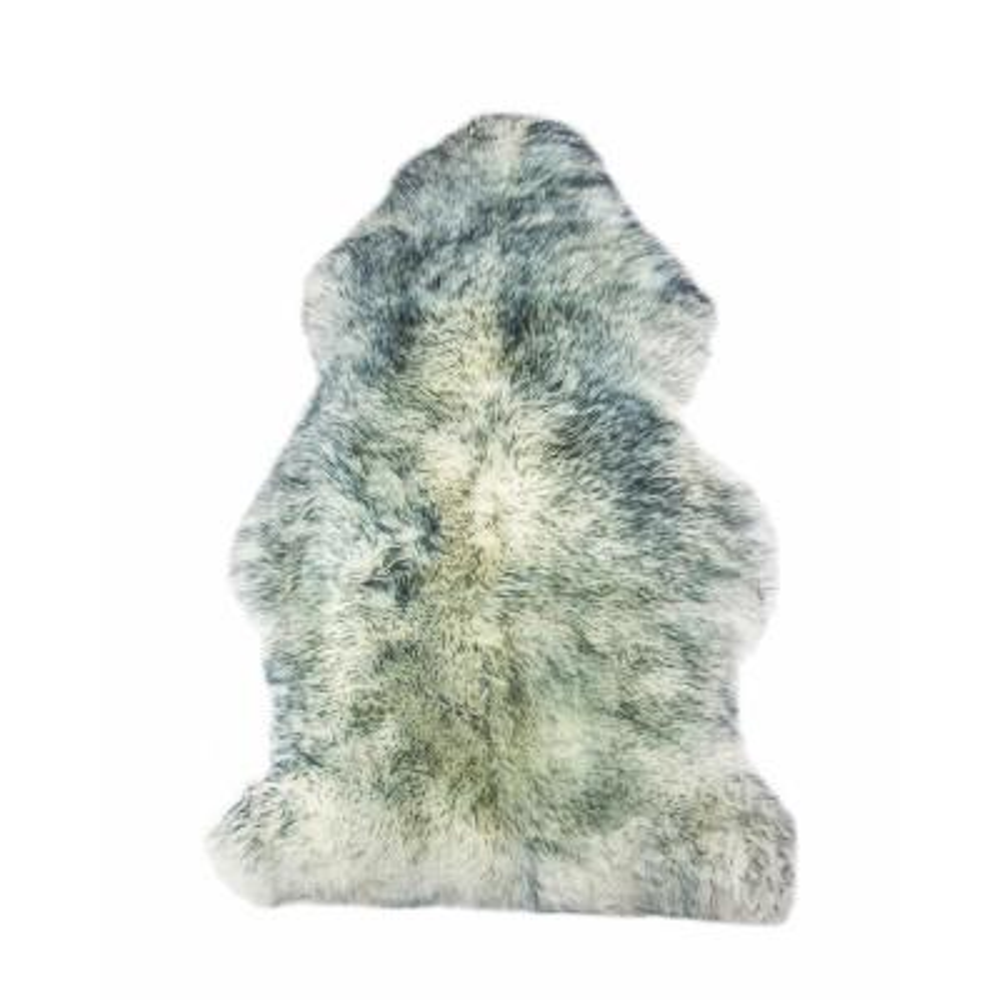 Milan Grey Mist 2 ft. x 3 ft. Shearling Single Sheepskin Rug