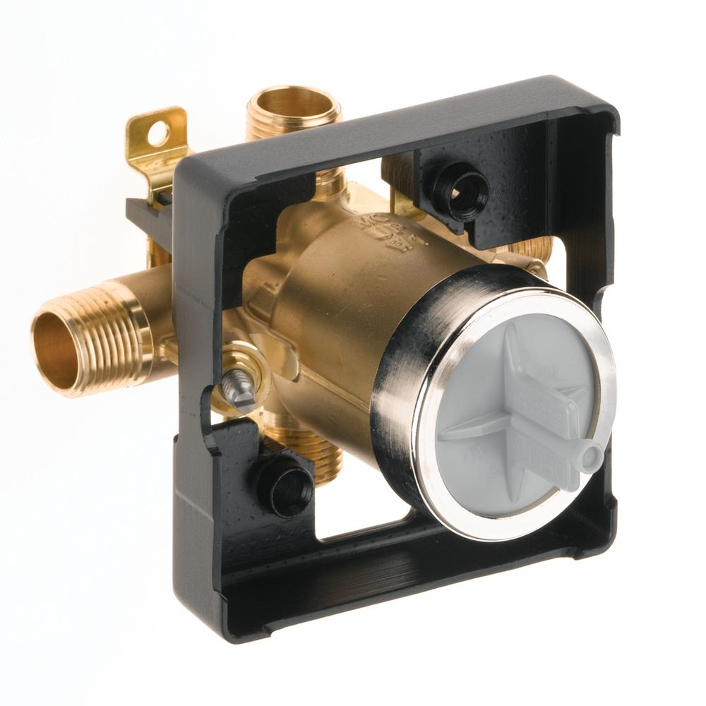 MultiChoice Universal Tub and Shower Valve Body Rough-in Kit with ...