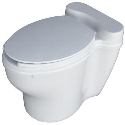Elongated Dry Toilet Non-Electric Waterless Toilet