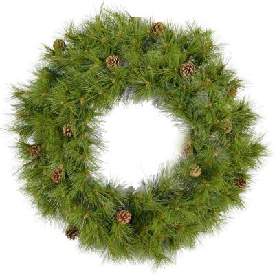 48 in. Eastern Pine Artificial Holiday Wreath