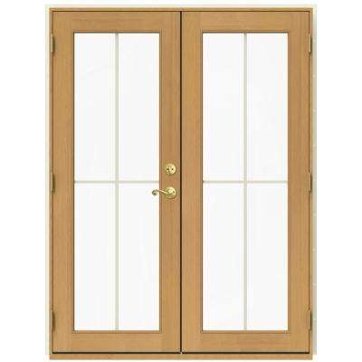 60 in x 80 in w 2500 vanilla clad wood right hand - 60 Patio Door