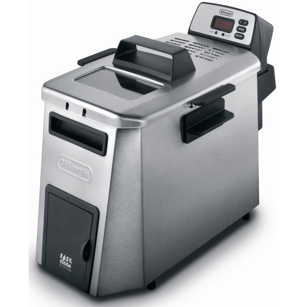 Delonghi Dual Zone Deep Fryer, Stainless