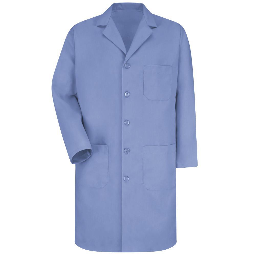 Men's Size 48 Light Blue Lab Coat
