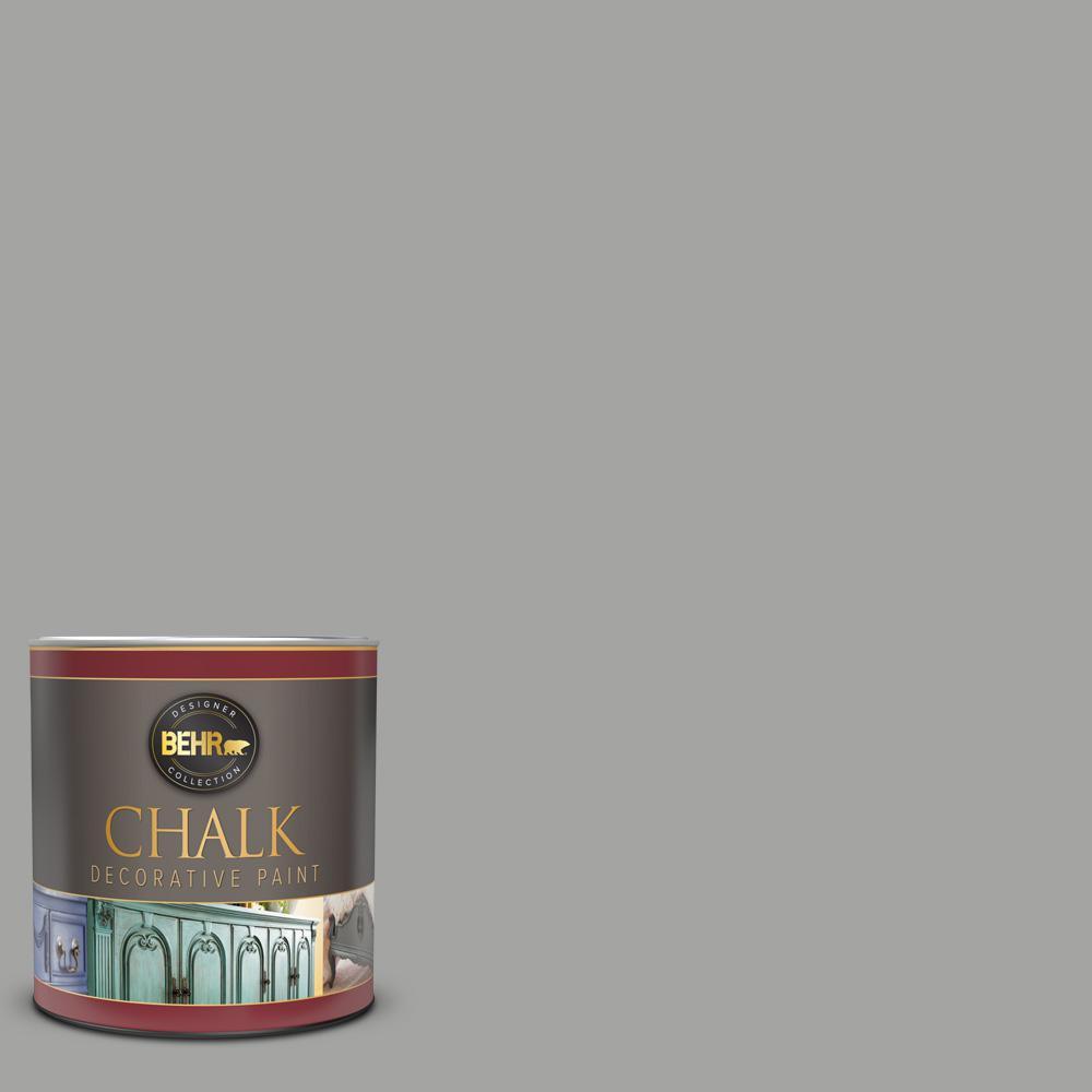 BEHR 1 qt. #PPU24-18 Great Graphite Interior Chalk Decorative Paint