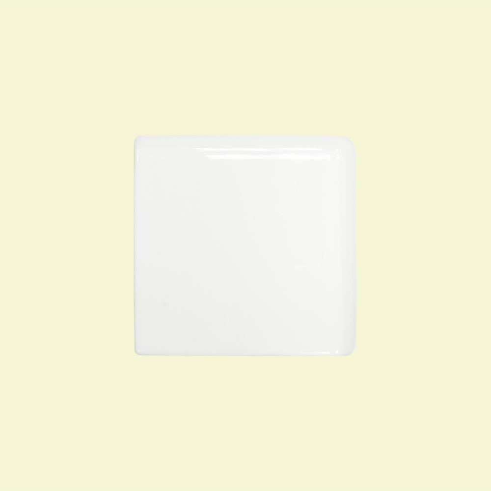 Backsplash 3x3 tile flooring the home depot allegro white 3 in x 3 in x 8 mm ceramic double bull nose dailygadgetfo Gallery