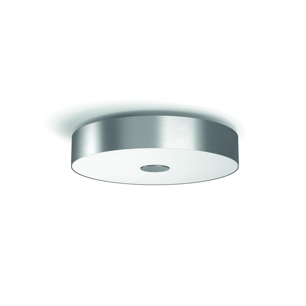 new concept 718a2 fee1a Philips Hue White Ambiance Fair LED Dimmable Smart Flush Mount Light