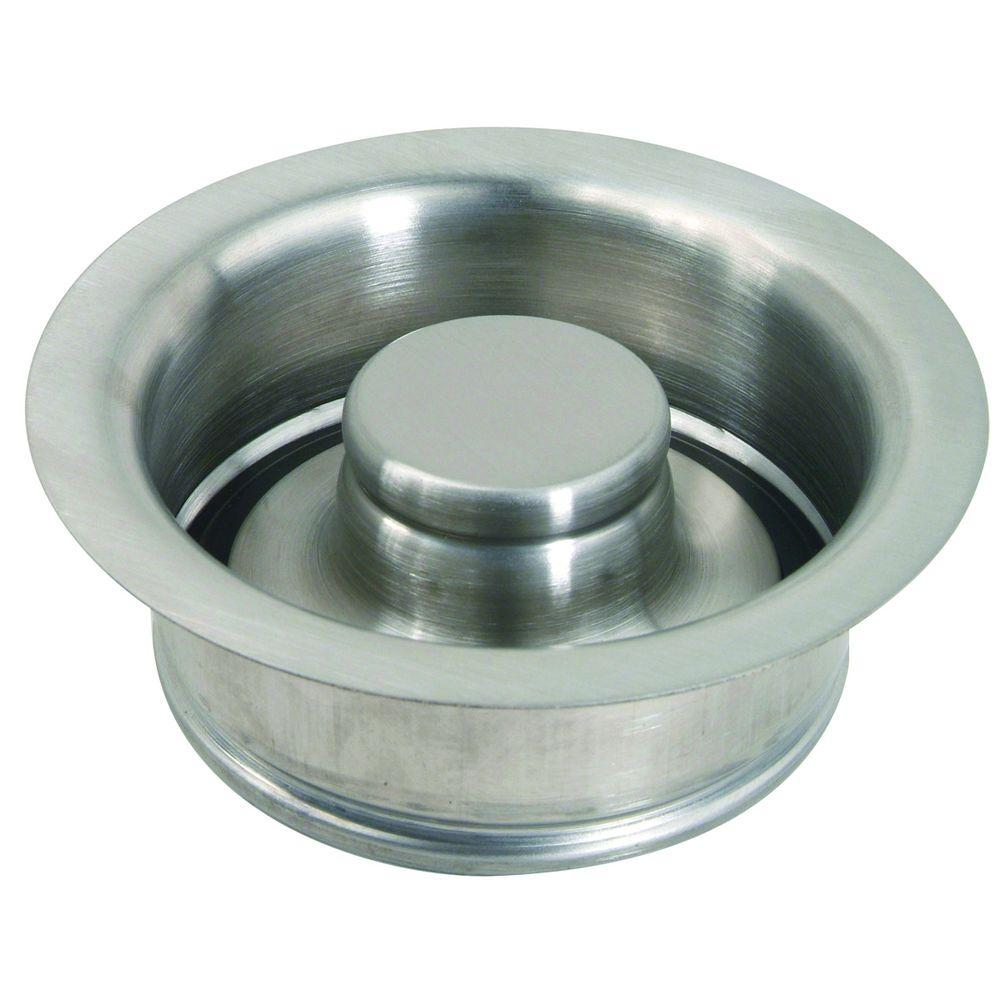 Brasscraft 3 1 2 In Garbage Disposal Flange And Stopper