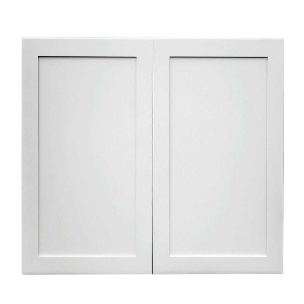Shaker Style Cabinet Doors: Krosswood Doors Frosted White Shaker II Ready To Assemble