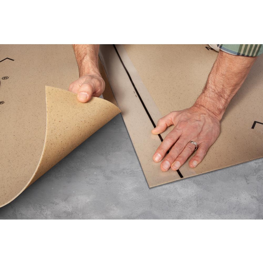 Eco Cork Foam 75 Sq Ft 3 X 25, Foam Underlayment For Laminate Flooring Home Depot