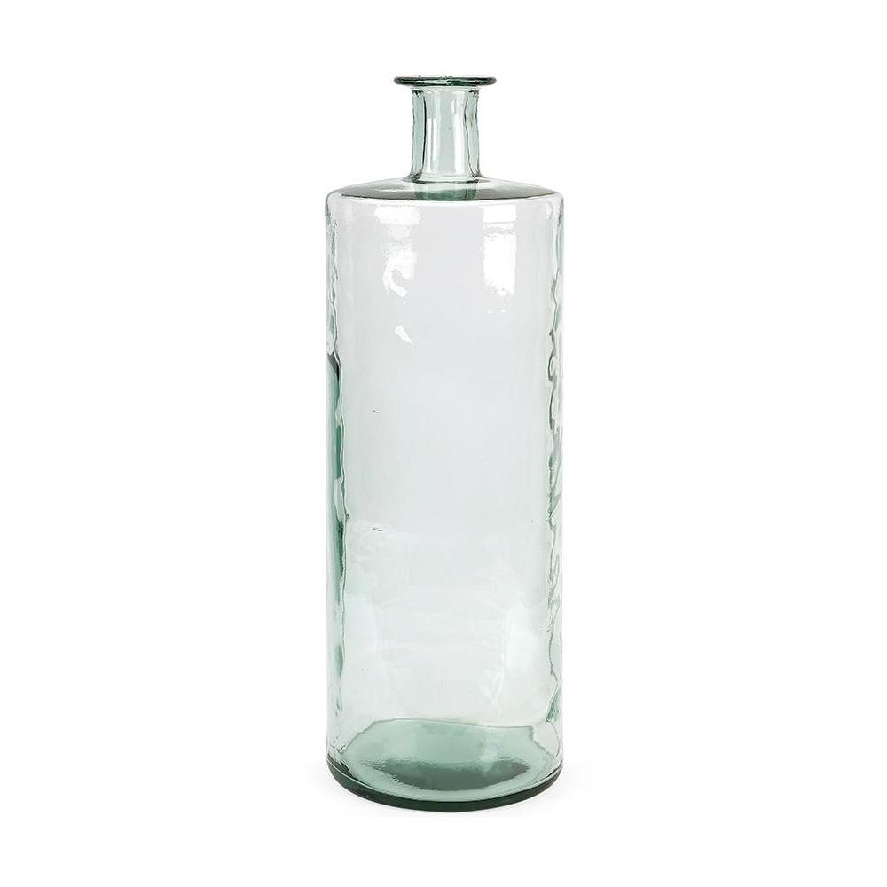 Vettriano 30 in. Glass Decorative Vase in Clear