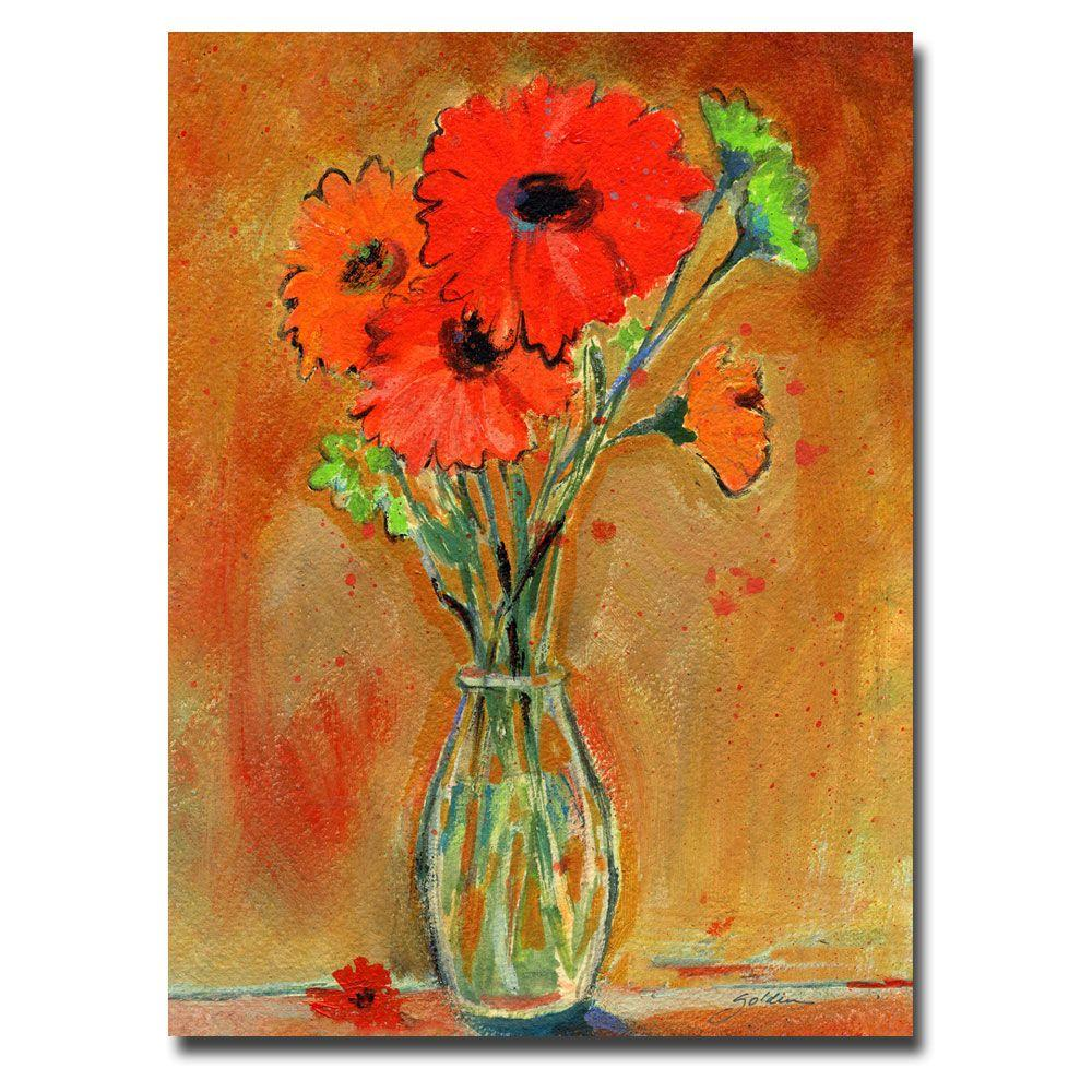 35 in. x 47 in. Daisy Vase Canvas Art