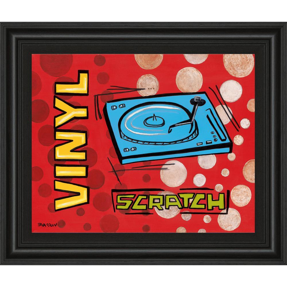"22 in. x 26 in. ""Vinyl"" by Tava Luv Framed Printed Wall Art"