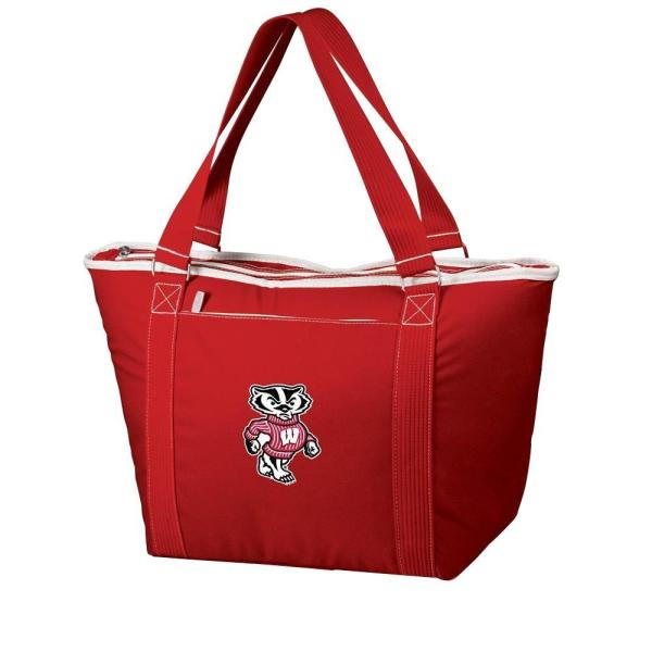 Picnic Time 24-Can Wisconsin Badgers Topanga Cooler Tote