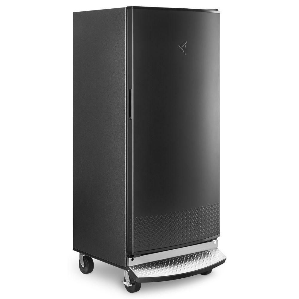 Gladiator 17.8 cu. ft. Upright Rolling Garage Freezer in Black ... on commercial freezer wiring diagram, chest freezer wiring diagram, whirlpool upright freezer parts, frigidaire freezer wiring diagram, whirlpool upright freezer compressor, whirlpool upright freezer controls,