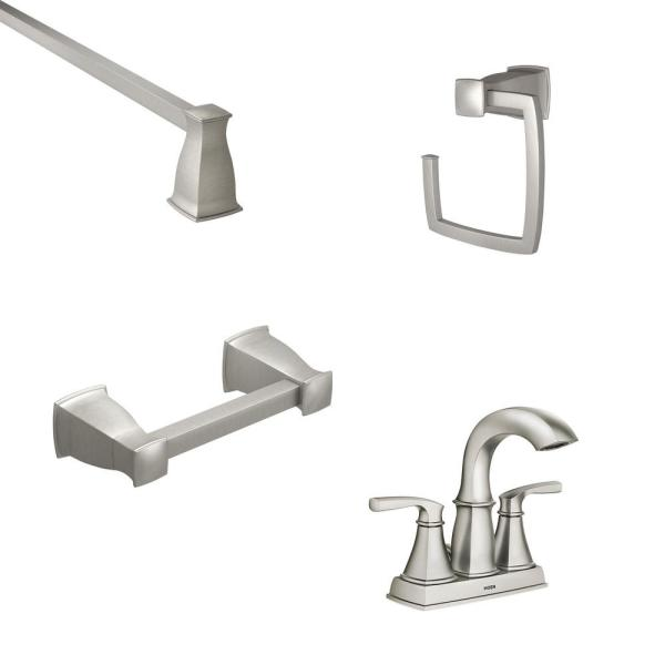 Moen Hensley 4 In Centerset 2 Handle
