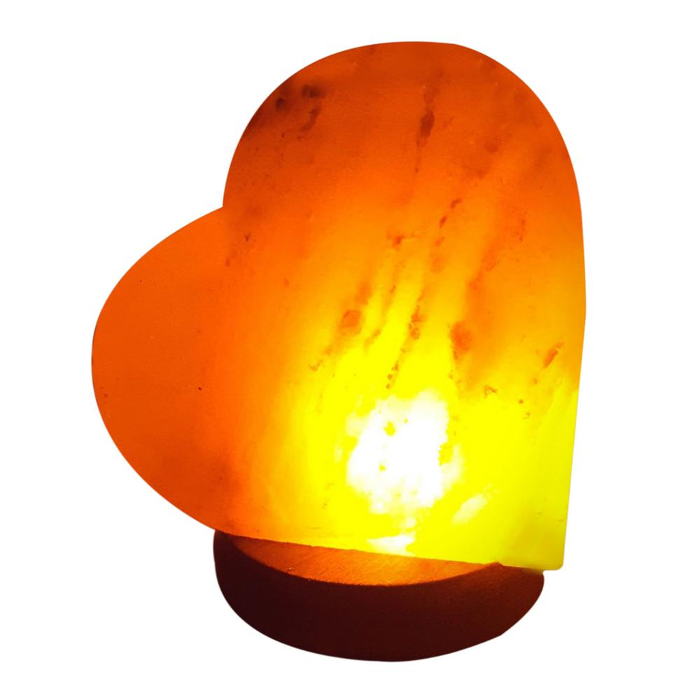 Lights & Lighting Cube Shape Healthy Life Himalayan Natural Crystal Salt Light Air Purifying Himalayan Salt Lamp For Bedroom Dimmer Switch Us Plug