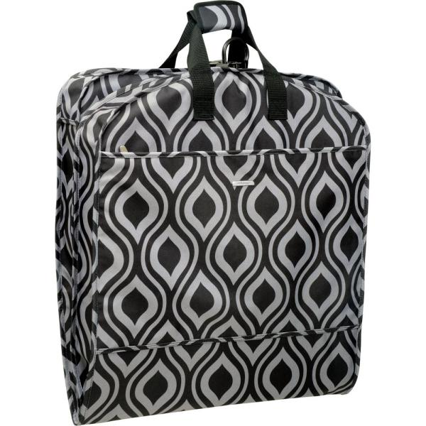 WallyBags 52 in. Dress Length Carry-On Fashion Ogee Garment Bag with