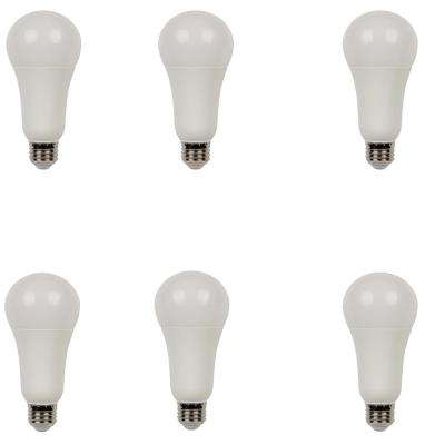 100W Equivalent Soft White Omni A21 Dimmable LED Light Bulb (6-Pack)