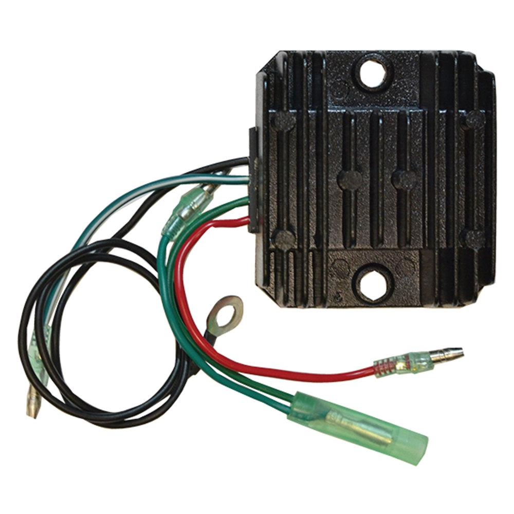 Voltage Regulator for Yamaha 3/4 Cylinder CDI Electronics 197-0003 Voltage Regulator is designed for use in marine environments. Built for Yamaha 3/4 cylinder. Direct replacement for 6H0-81960-00-00.