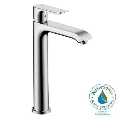 hansgrohe bathroom faucet. Metris E 200 Single Hole 1 Handle High Arc Bathroom Faucet in Chrome Hansgrohe  Faucets Bath The Home Depot