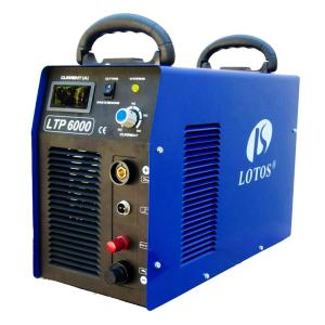Lotos 60 Amp Non-Touch Pilot Arc IGBT Inverter Plasma Cutter for Metal, 220V, 3/4 Inch Clean Cut by Lotos