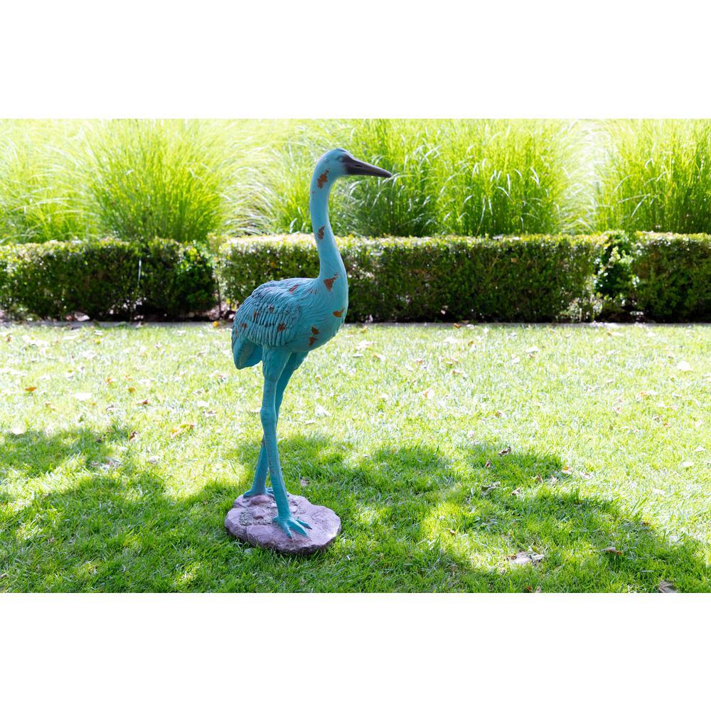 Standing Crane Statue
