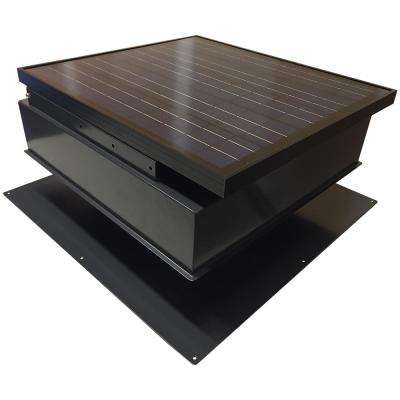1550 CFM Powder Coated Galvanized Steel Solar Powered Attic Fan