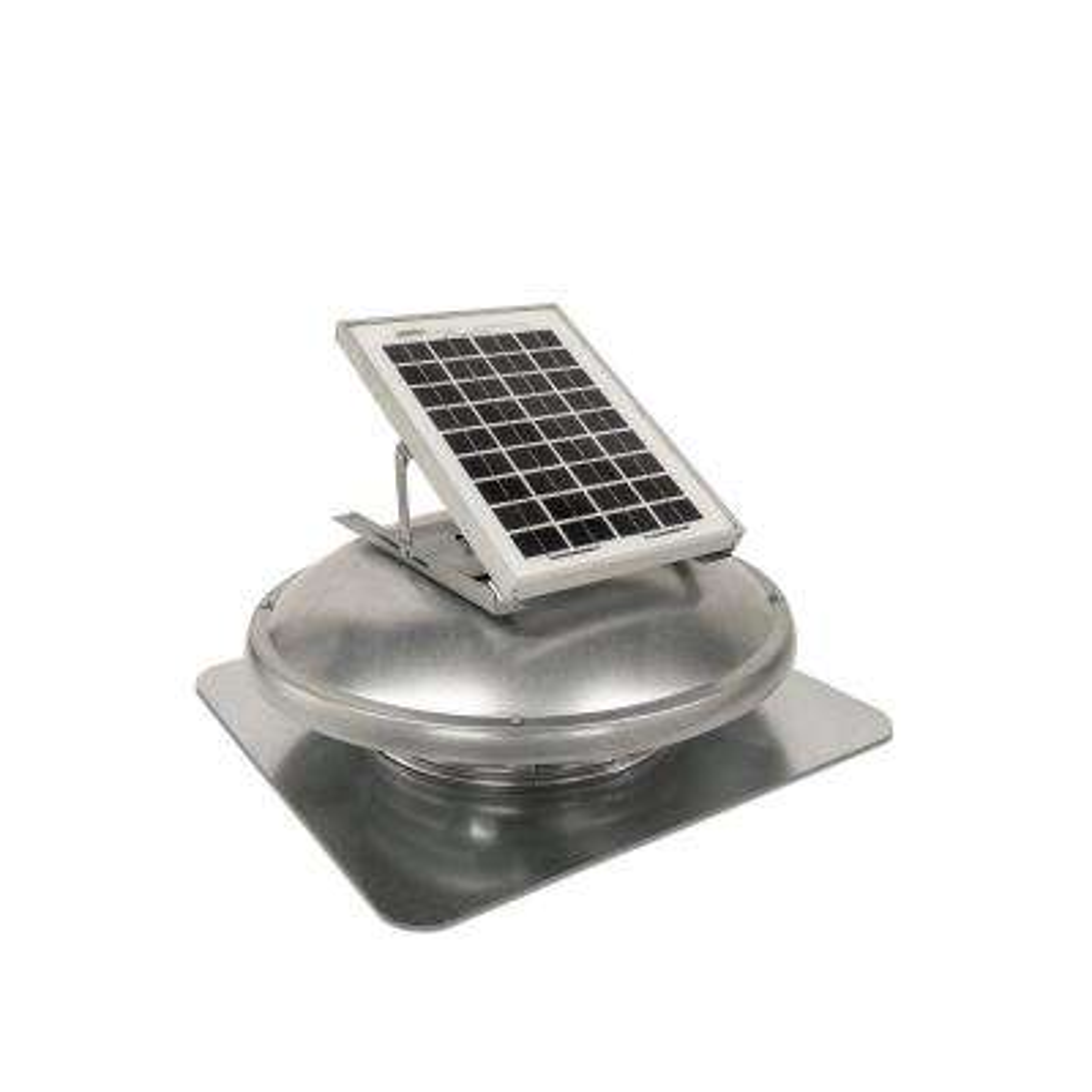 500 CFM Solar Powered Roof Mount Attic Fan