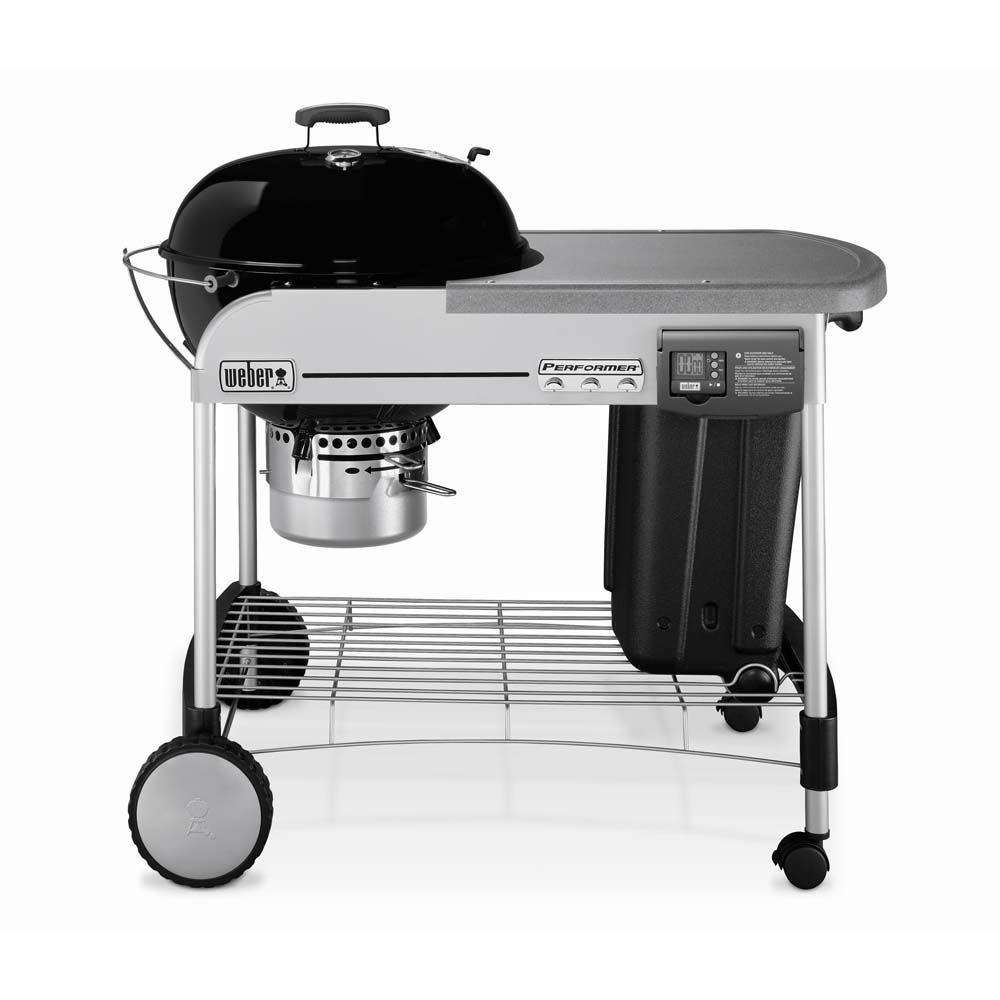 Weber Performer Platinum 22-1/2 in. Charcoal Grill in Black