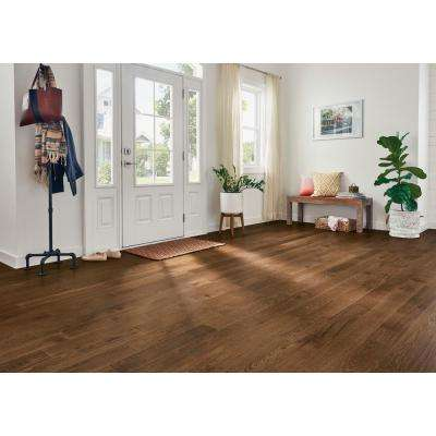 Hydropel Hickory Light Brown 7/16 in. T x 5 in. W x Varying L Waterproof Engineered Hardwood Flooring (22.6 sq. ft.)