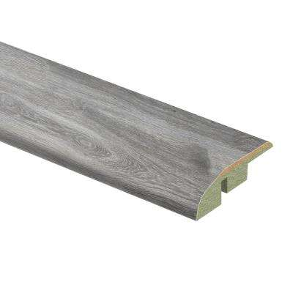Silverton Oak 1/2 in. T x 1-3/4 in. Wide x 72 in. Length Laminate Multi-Purpose Reducer Molding