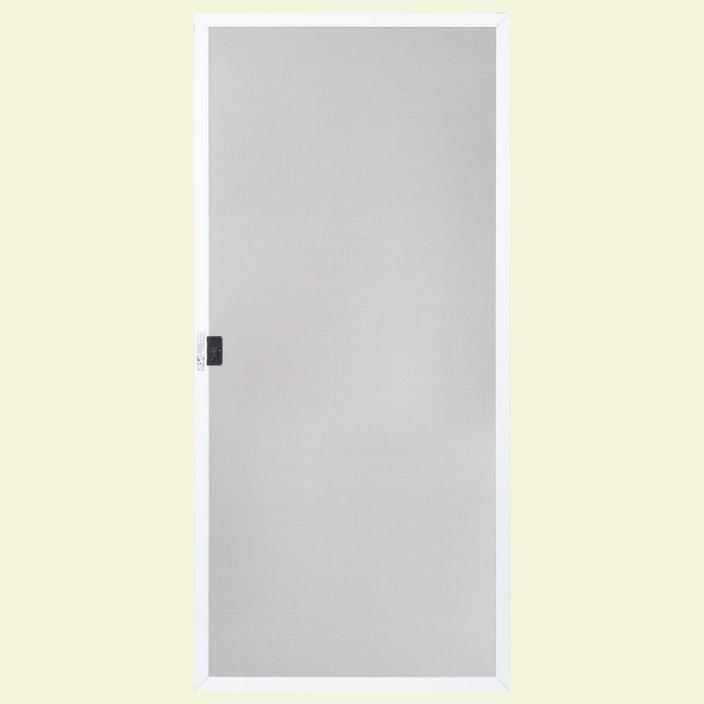 Masonite 36 In. X 80 In. 36 In. White Replacement Screen For Patio