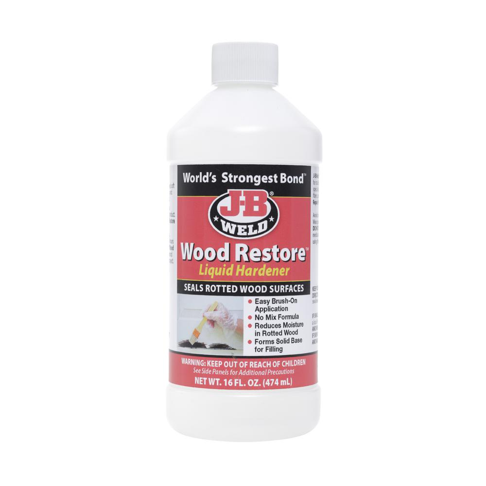 J-B Weld 16 oz. Wood Restore Liquid Hardener (Case of 6)