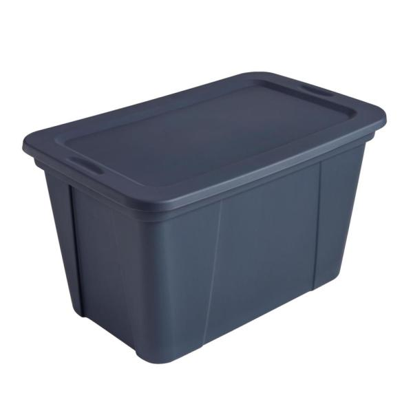 Hdx 30 Gal Tote Ink 2130 4415707 The, Home Depot Storage Baskets