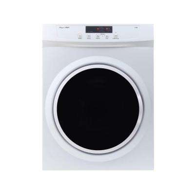 3.5 cu. ft. Compact Standard Electric Dryer with Sensor Dry, Refresh Function and Automatic Wrinkle Guard