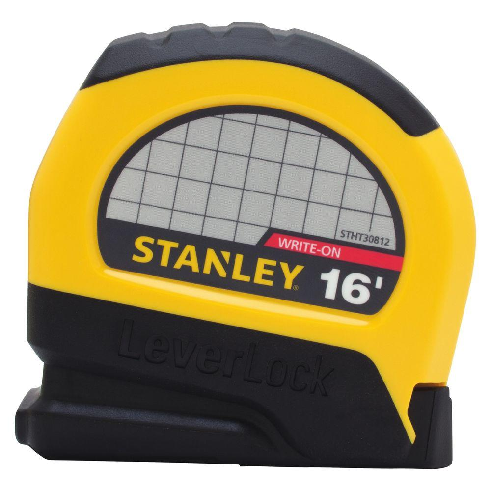 Stanley LeverLock 16 ft. x 3/4 in. Tape Measure