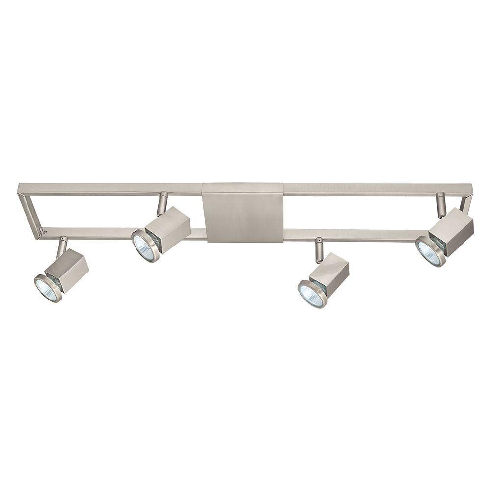 Light Satin Nickel Track Lighting