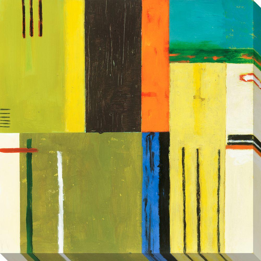 NEP Art 40 in. x 40 in. Paris II Oversized Canvas Gallery Wrap