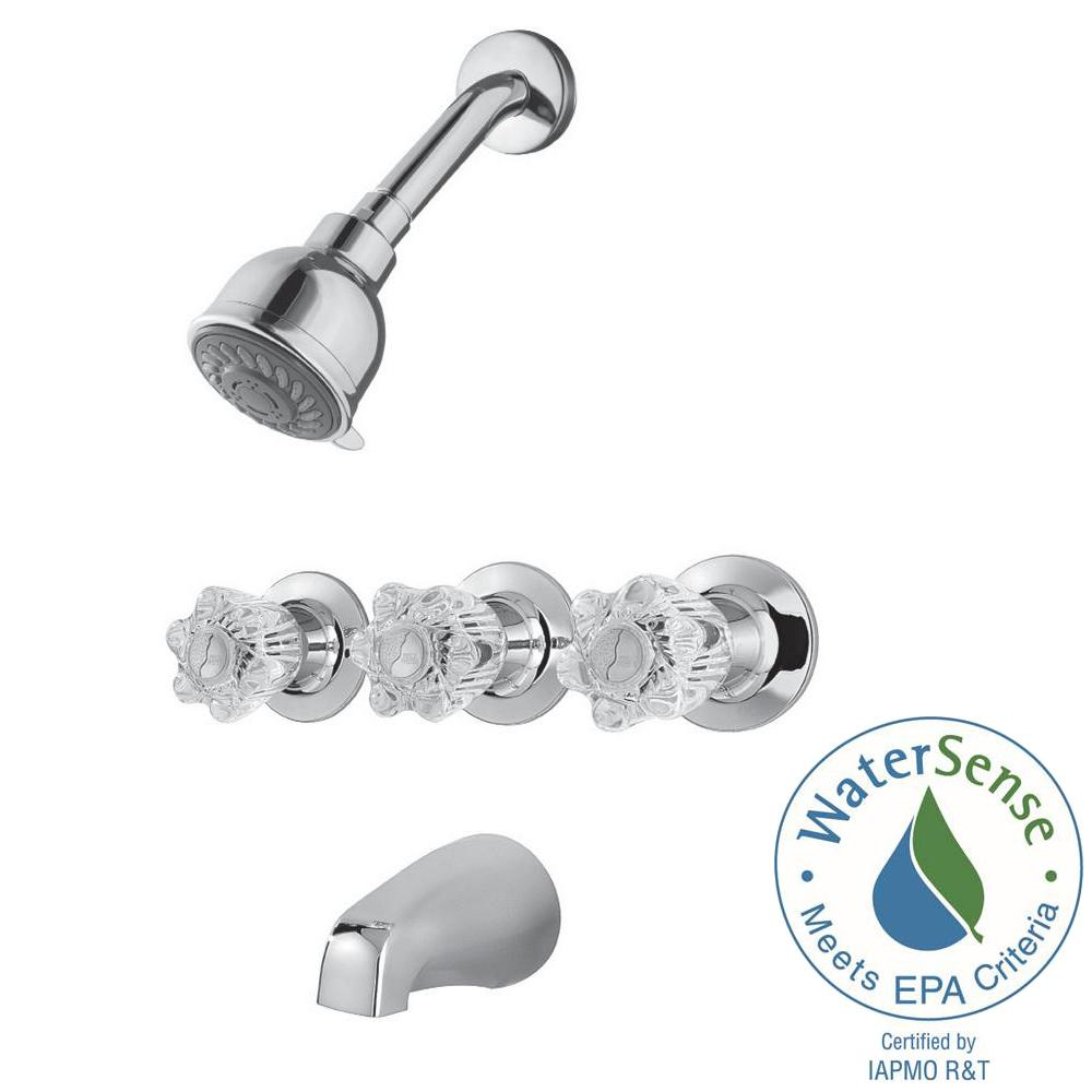 Nice Pfister Tub And Shower Faucets Images - Bathroom with Bathtub ...
