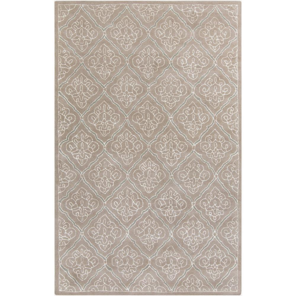 Aprevalia Taupe 8 ft. x 11 ft. Indoor Area Rug