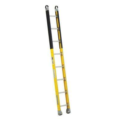 8 ft. Fiberglass Manhole Ladder with 375 lb. Load Capacity Type IAA Duty Rating