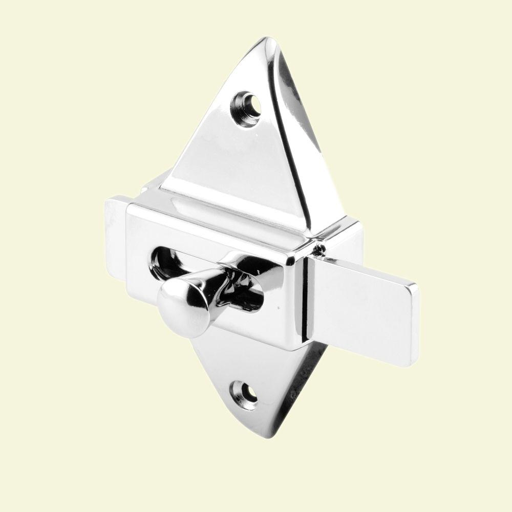 Prime-Line 2-3/4 in. Hole Centers Chrome Slide Latch-650-6596 ...