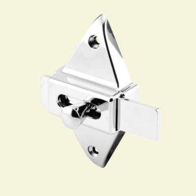 2-3/4 in. Hole Centers Chrome Slide Latch
