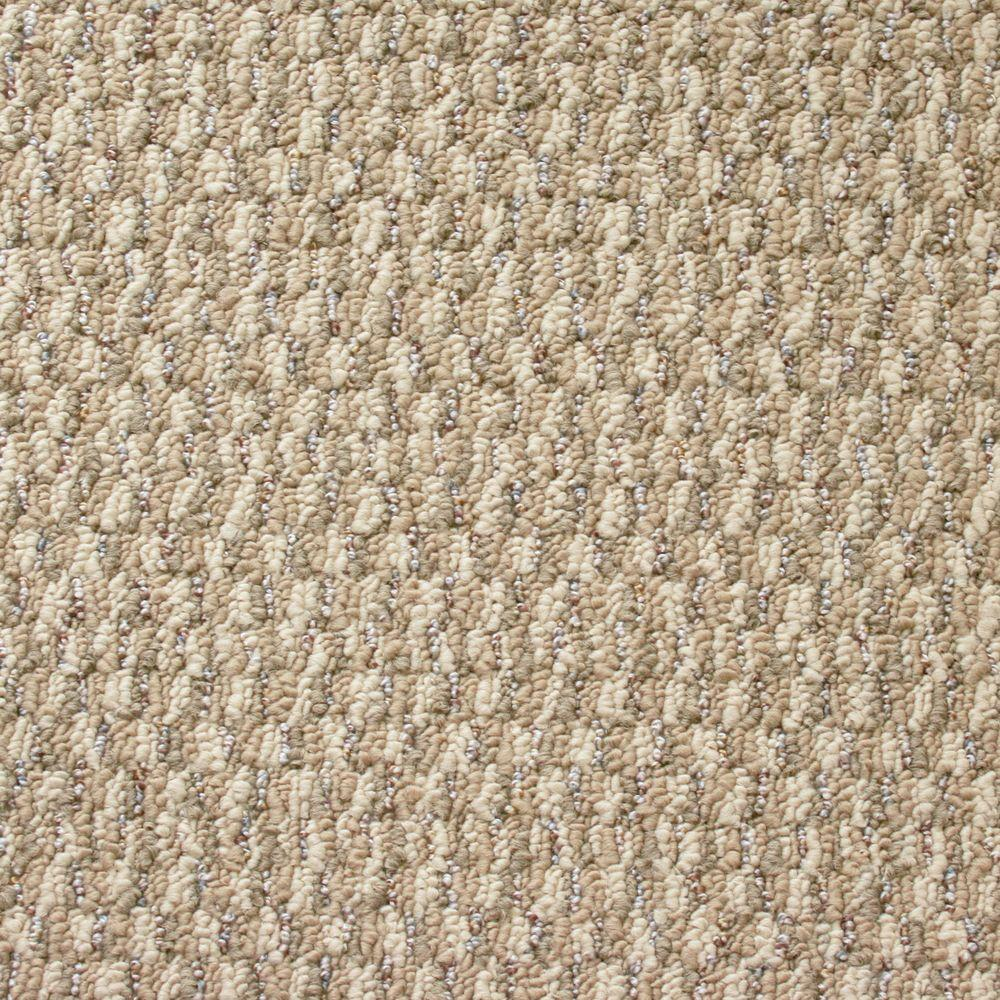 TrafficMASTER State of the Art - Color Sacramento Textured Graphic Berber 12 ft. Carpet