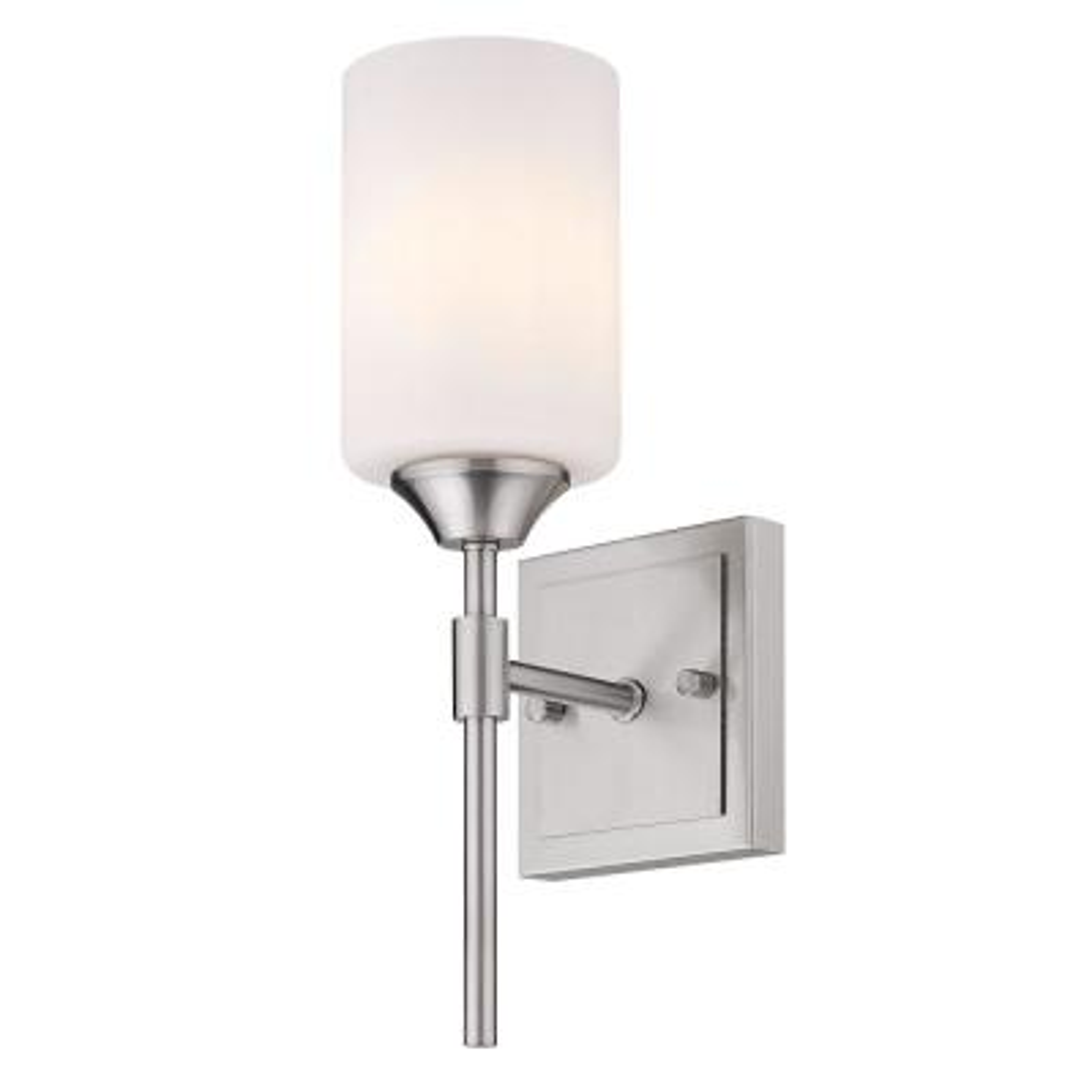Ormond 4.375 in. 1-Light Pewter Vanity Light