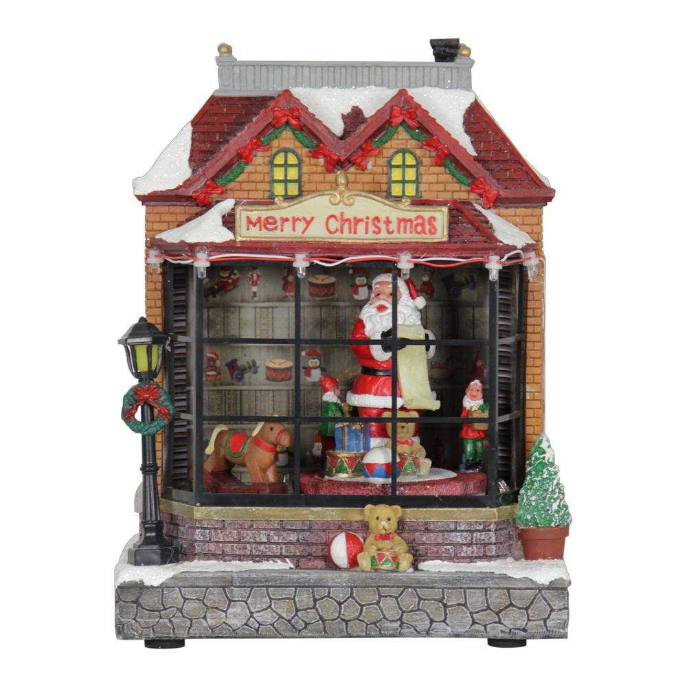 Exhart 9 in. Christmas Yard Decor Moving Train