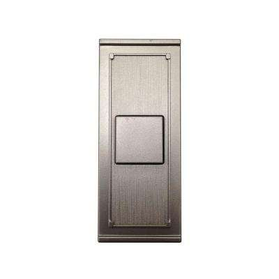 Wireless Push Button, Brushed Nickel