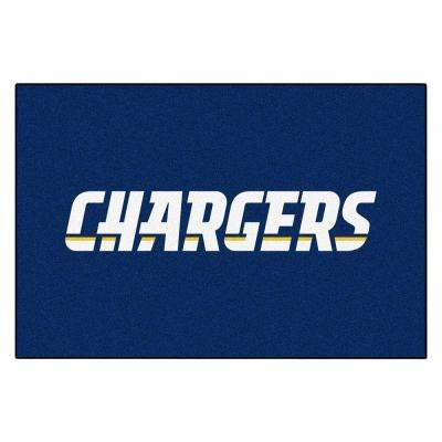 San Diego Chargers 19 in. x 30 in. Accent Rug