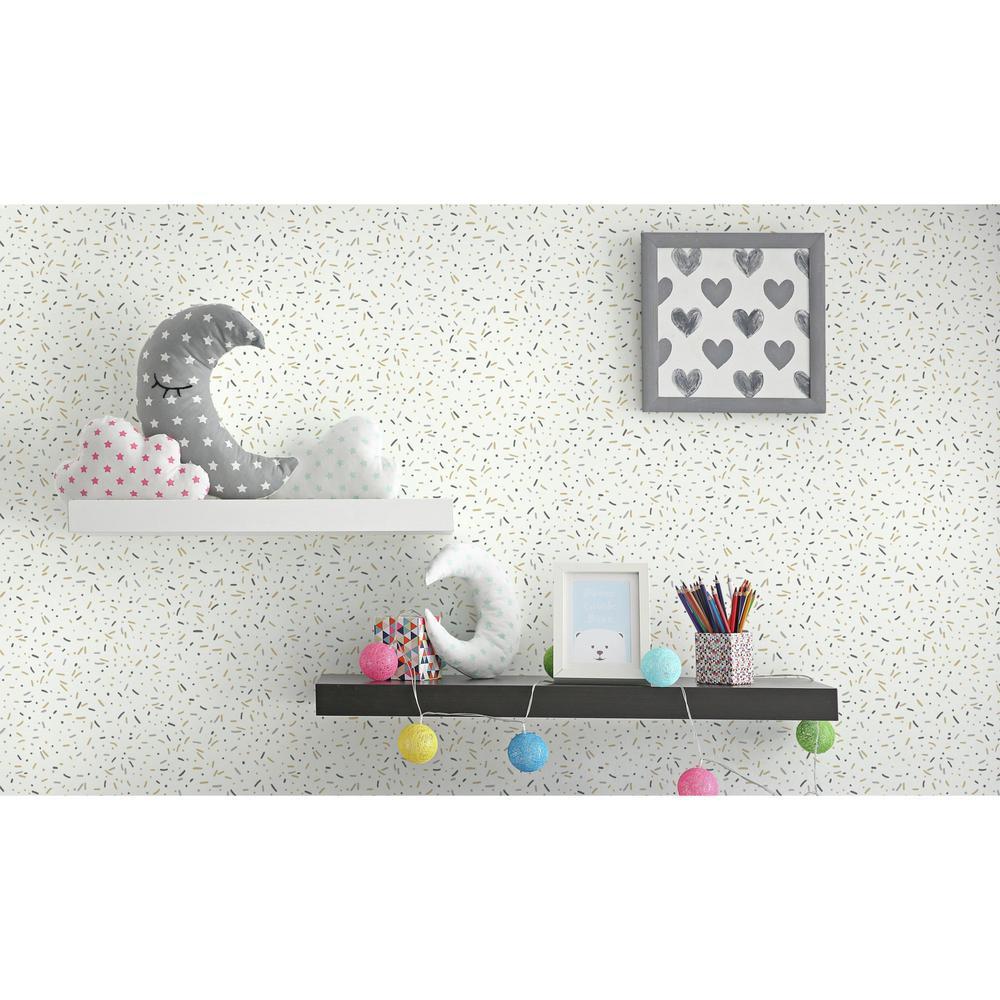 56 sq. ft. Sprinkles Wallpaper
