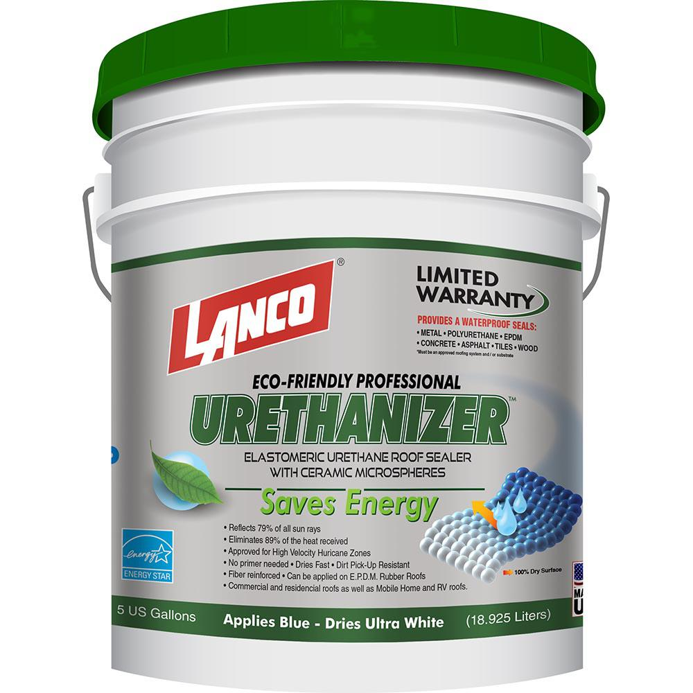 Lanco 5 Gal. Urethanizer Reflective Roof Coating